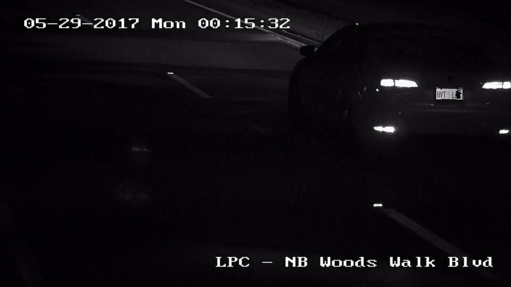 HD surveillance plate cam night